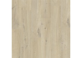 Alpha vinyl medium planks - Katoen eik beige (klik)